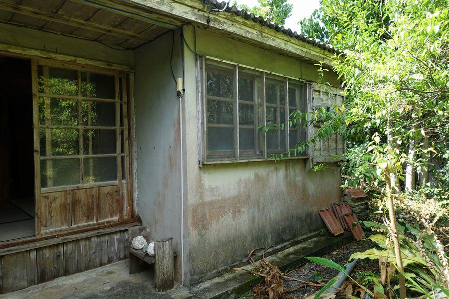 イエシロアリの被害にあった琉球古民家